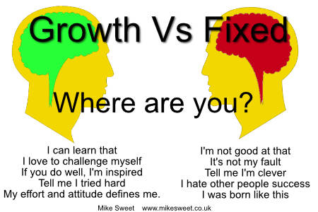 Growth and Fixed Mindsets Web