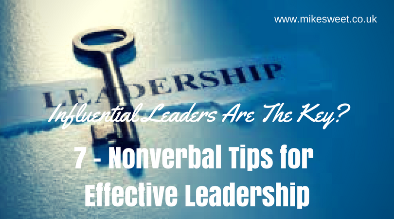 Nonverbal Tips for Effective Leadership